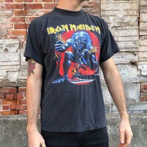 Vintage 1993 Iron Maiden Single Stitch Tour Shirt
